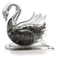 Лебедь со светом  3Д