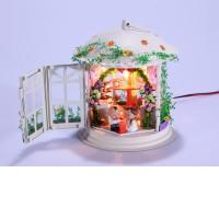 Свадебный фонарик (с фигурками)