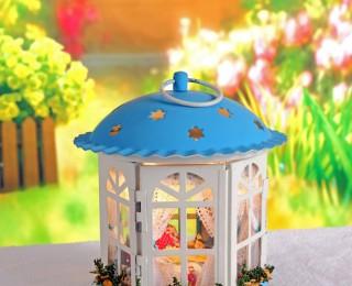 """DIY Mini House Фонарик """"Сны о море"""""""