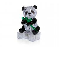 Панда сидящая на подставке 3D  (со светом)