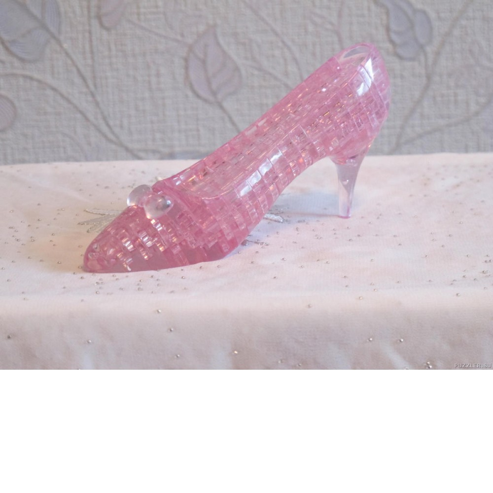 Купить Туфелька кристаллический пазл 3д