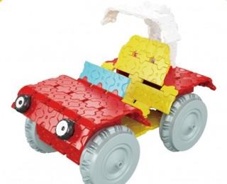 Конструктор пластиковый Кабриолет